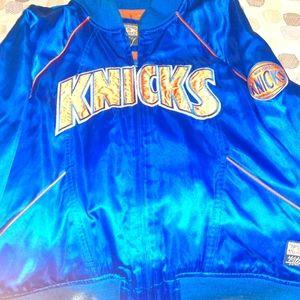 Original Knicks Shiney Blue Jacket for Women&Men